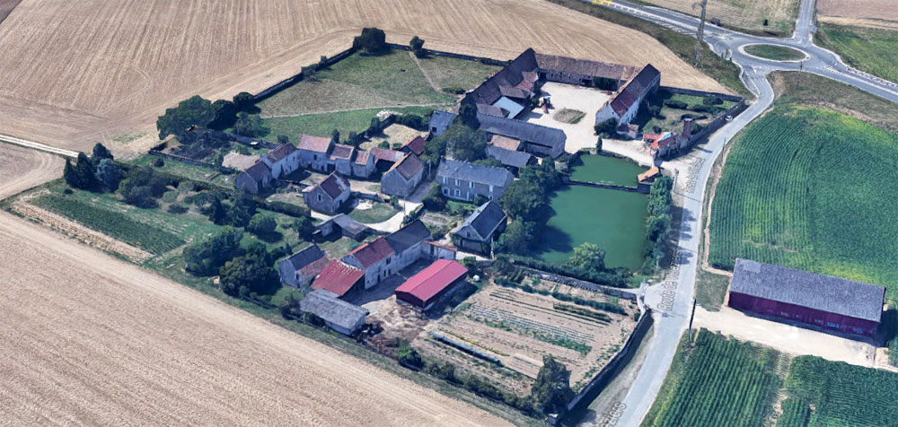 la ferme de Michel Houdière à Grivery