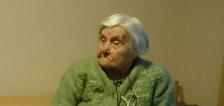 Madame Andrée Gillion en 2017