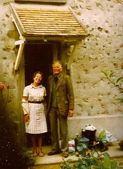 Mme et M. Rousseau à La Vacheresse 1978