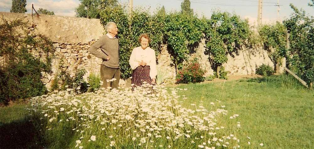 Mme et M. Rousseau à La Vacheresse 1991
