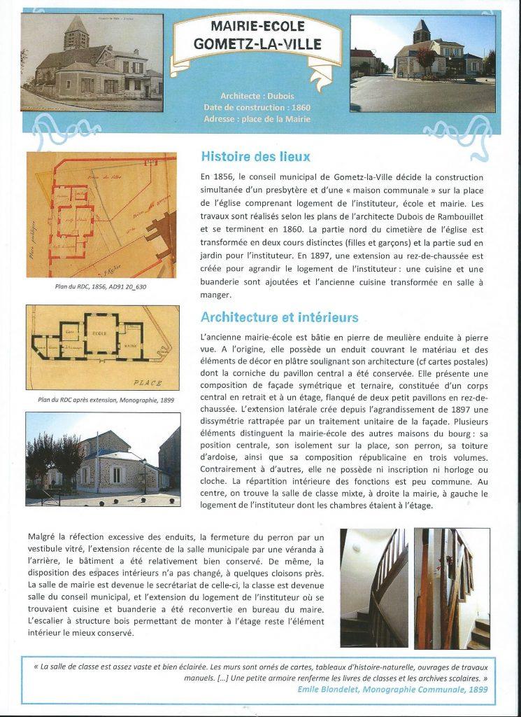 Mairie-Ecole de Gometz la Ville