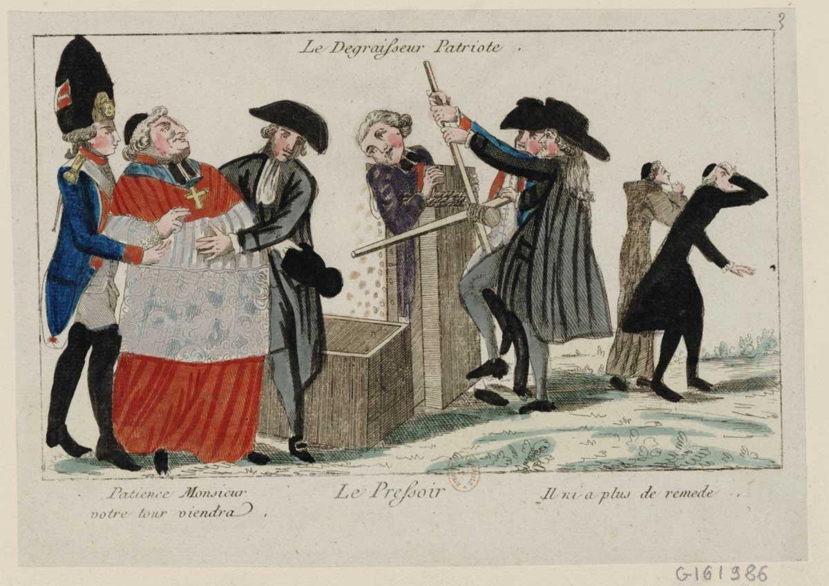 Les biens du clergé en 1789
